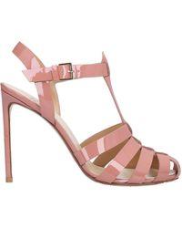 Francesco Russo Sandale - Pink