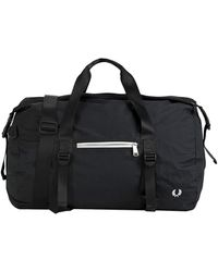 Fred Perry Duffel Bags - Black