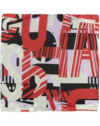TOPSHOP Square Scarf - Red