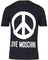 Love Moschino T-shirt - Blue