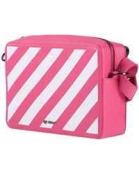 Off-White c/o Virgil Abloh Striped Belt Bag - Pink