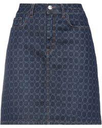 Marella Denim Skirt - Blue