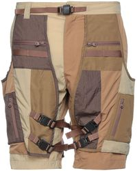 White Mountaineering Shorts & Bermuda Shorts - Green