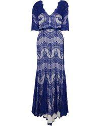 Catherine Deane Long Dress - Blue