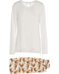 Verdissima Pijama - Blanco
