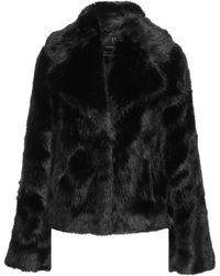 Unreal Fur Teddy Coat - Black