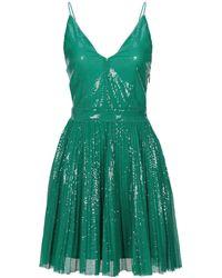 MSGM Short Dress - Green