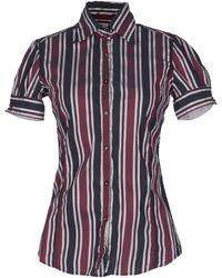 Aglini - Short Sleeve Shirt - Lyst