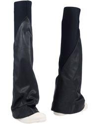 Rick Owens Drkshdw Boots - Black