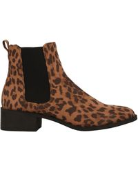 Madden Girl Ankle Boots - Brown