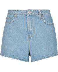 Chiara Ferragni Short en jean - Bleu