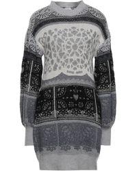 VIKI-AND Short Dress - Grey