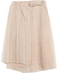 Fendi 3/4 Length Skirt - Natural