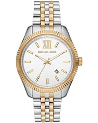 Michael Kors Mk8752 Lexington Bracelet Watch - Metallic