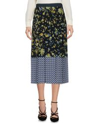 Caractere - 3/4 Length Skirt - Lyst