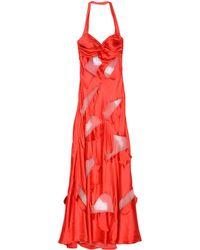 Moschino Long Dress - Red