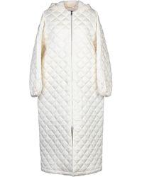 Jil Sander Synthetic Down Jacket - White