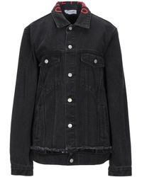 Odi Et Amo Denim Outerwear - Black