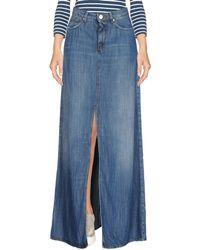 Pinko Denim Skirt - Blue