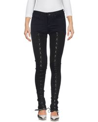Guess - Denim Trousers - Lyst