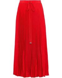 Tibi Long Skirt - Red