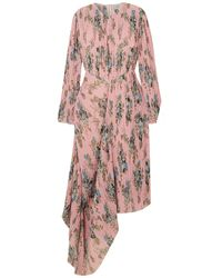 Preen By Thornton Bregazzi Midi Dress - Pink