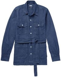 Beams Plus Denim Shirt - Blue