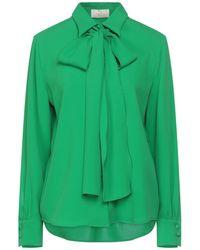 Sara Battaglia Camisa - Verde