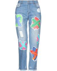 House of Holland Pantalon en jean - Bleu