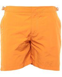 Orlebar Brown Swim Trunks - Orange