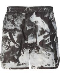 Rick Owens Drkshdw Shorts - Gris