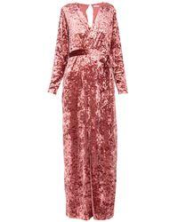 Glamorous Long Dress - Red