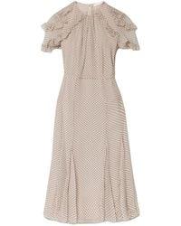 Jason Wu - Knielanges Kleid - Lyst