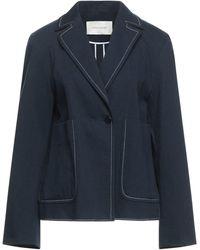 Cedric Charlier Suit Jacket - Blue