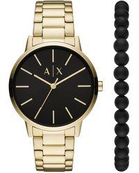 Armani Exchange Wrist Watch - Metallic