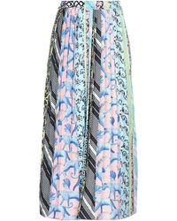 Silvian Heach Long Skirt - Blue