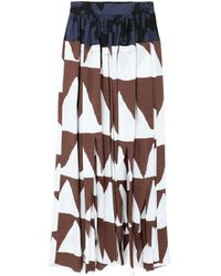 Vivienne Westwood Anglomania Long Skirt - White