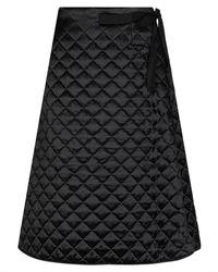 Celine 3/4 Length Skirt - Black