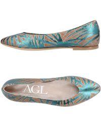 Agl Attilio Giusti Leombruni - Ballet Flats - Lyst