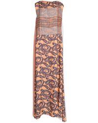 Acne Studios Robe longue - Multicolore