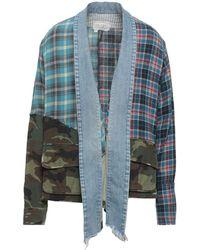 Greg Lauren Suit Jacket - Blue