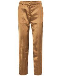 Agnona Casual Pants - Natural