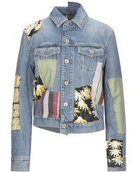 Loewe Manteau en jean - Bleu
