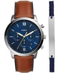 Fossil Armbanduhr - Blau
