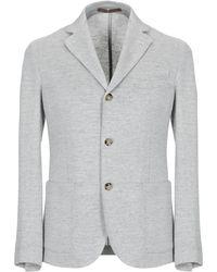 Eleventy Suit Jacket - Grey