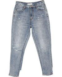 One Teaspoon Pantaloni jeans - Blu