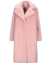 Manila Grace Teddy coat - Rosa