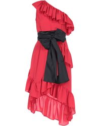 Ainea Short Dress - Red