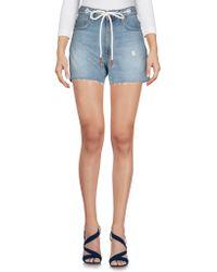 Rag & Bone Denim Shorts - Blue