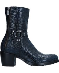 Rocco P Ankle Boots - Blue
